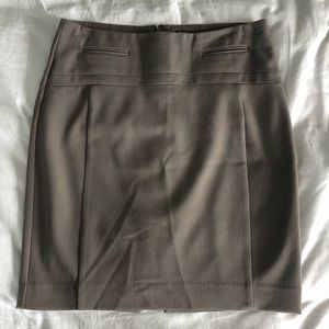 Brown express work skirt size 2